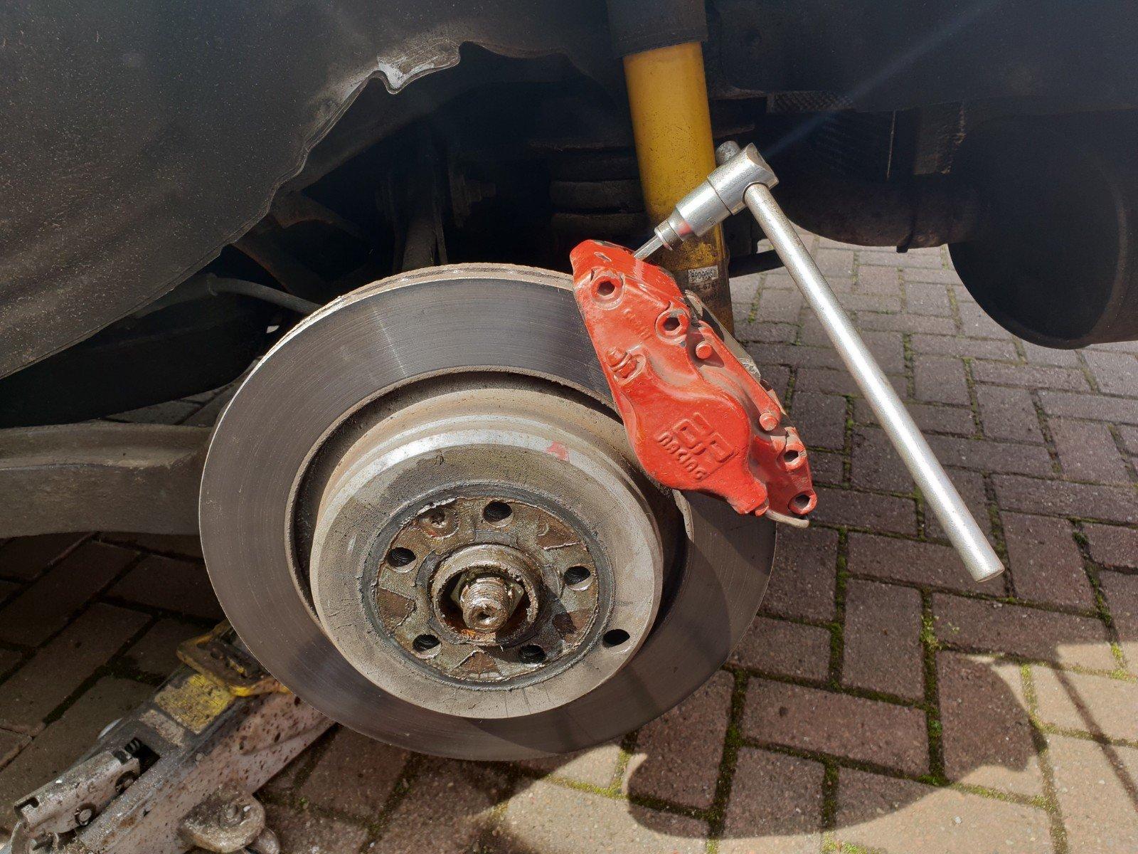 MGZT rear discs