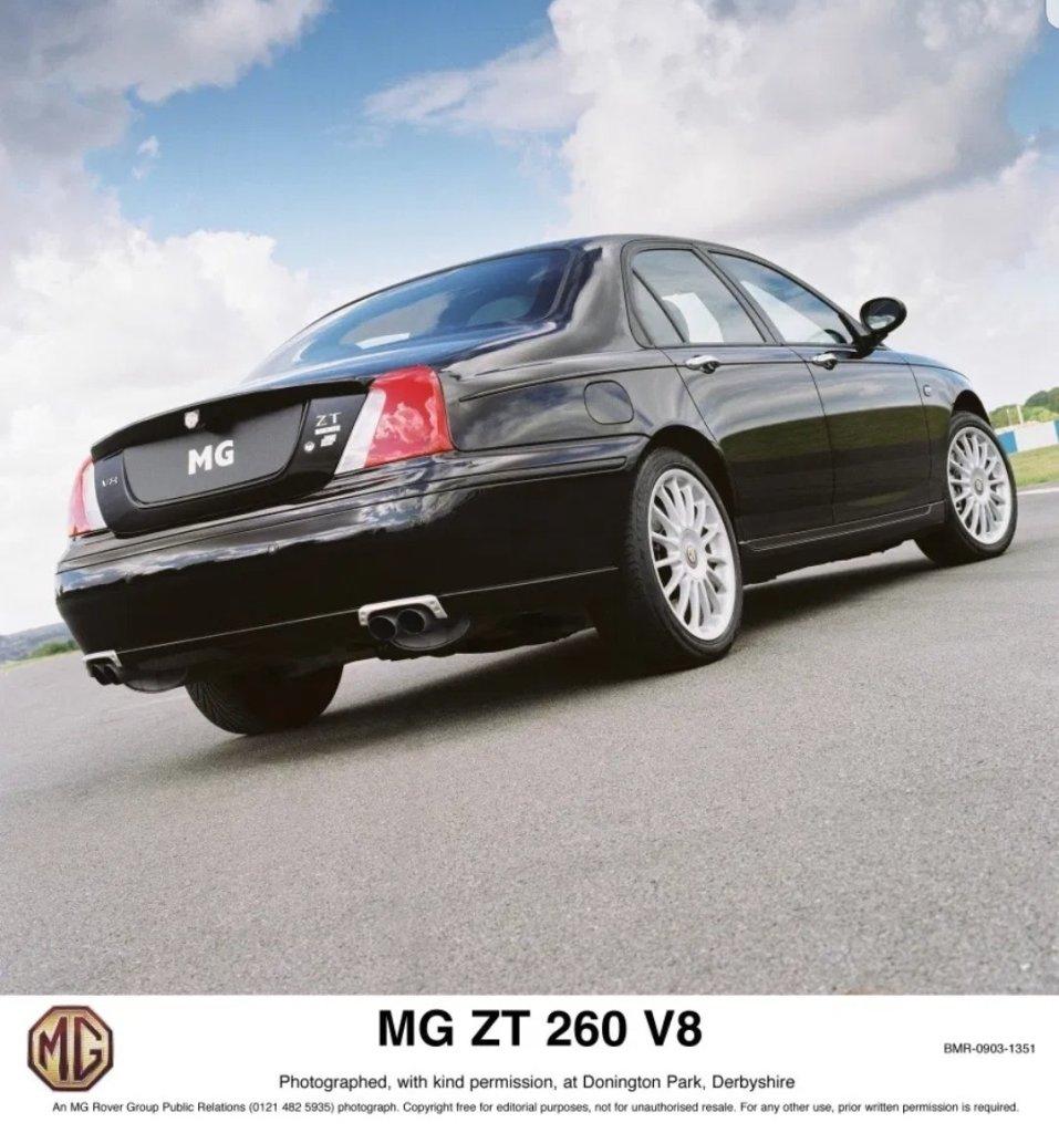MG ZT 260