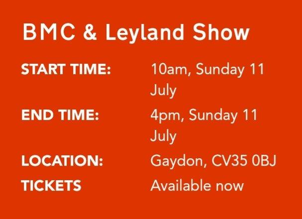 BMC Leyland Day
